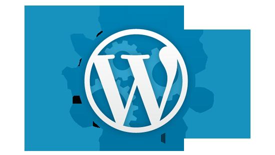 Web vytvořený pomocí WordPress